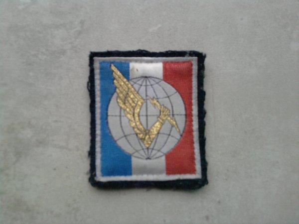 Lot d'insignes en tissus (encore des trouvailles dans le grenier de mon frère)
