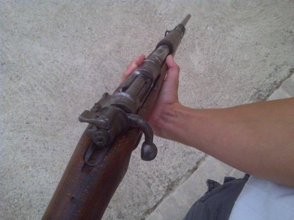 Mon premier fusil : Un Mauser Kar 98K (neutra)