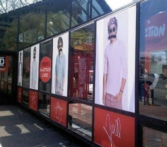 One Direction : Un One Direction Shop a été vandalisé à Boston !