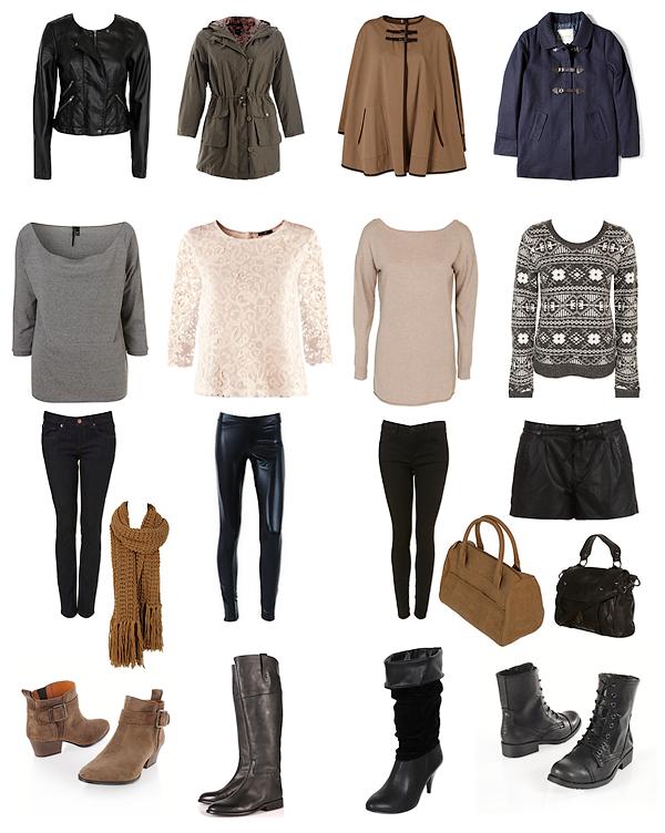 Quelques tenues d'hiver !