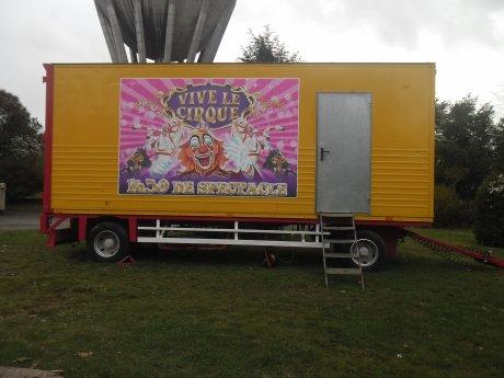 ° REPORTAGE N°1 ° Cirque John Fratellini à CENON - Partie 1