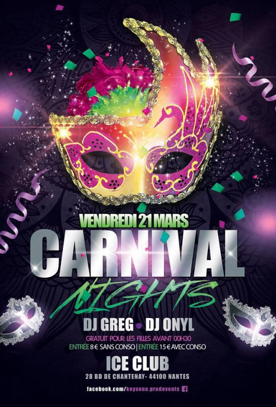 *** CARNAVAL NIGHT DE NANTES ***