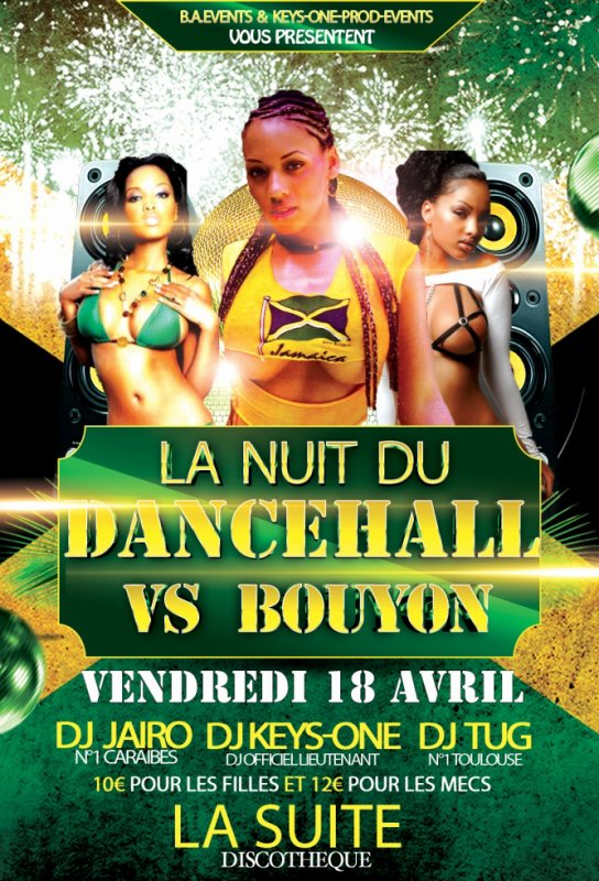 *** DANCEHALL VS BOUYON *** DJ KEYS-ONE / DJ JAIRO / DJ TUG