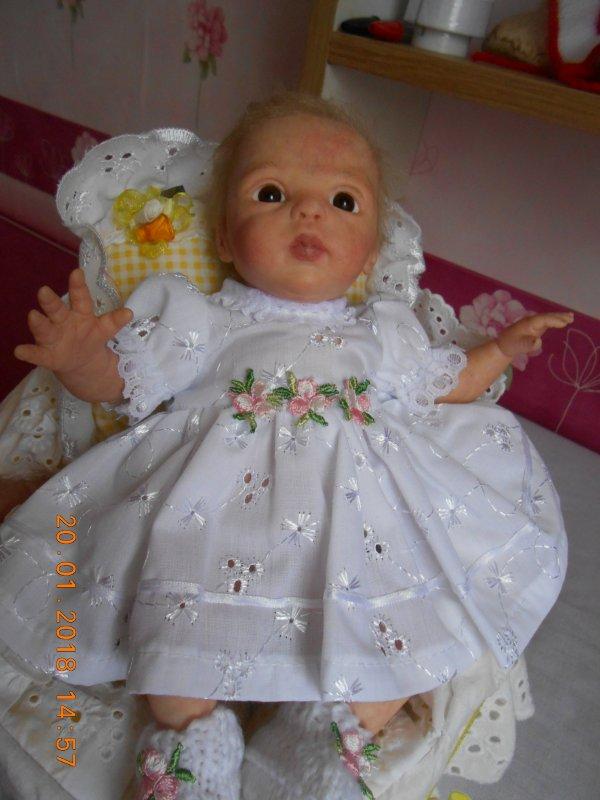 robe pour mini reborn 23 cms