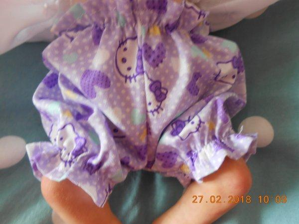 Petits bloomer pour mini bébés (25 cms)