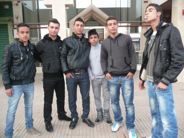 Moi et Mes amis  à Marrakech