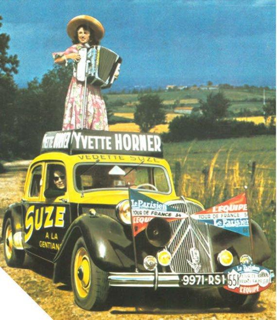 Yvette HORNER , reine de l'accordéon