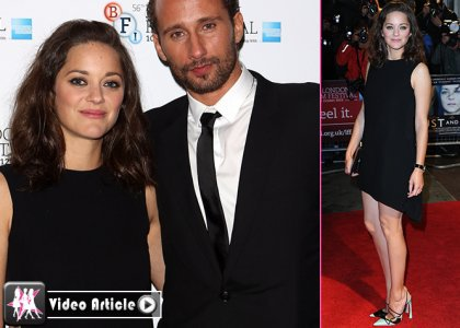 "Marion Cotillard's Radiant ""Rust and Bone"" BFI London"