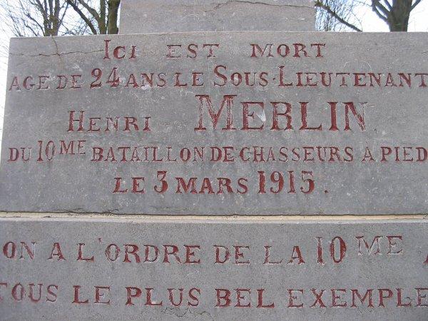CALVAIRE HENRI MERLIN