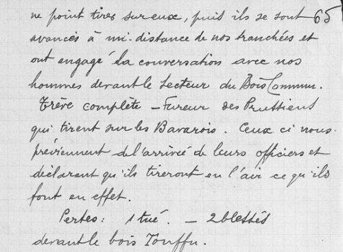 Image De Lettre De Noel.Lettre De Soldat Sur La Treve De Noel Blog De Artois1418