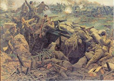 BATAILLE DE FREZENBERG: PREMIERE PARTIE (cette bataille fait partie de la seconde bataille d'Ypres)