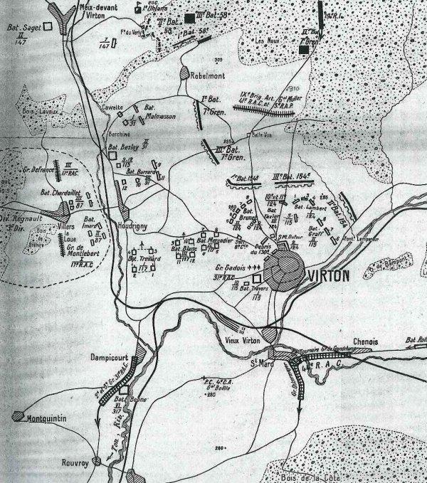 JOURNEE DU 22 AOUT 1914 : SUITE