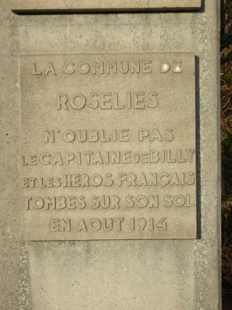 COMBAT DE ROSELIES 21-23 AOUT 1914: CONCLUSION