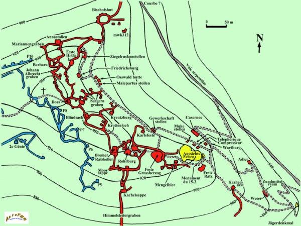 BATAILLE DU HARTMANNSWILLERKOPF : 19 JANVIER AU 22 DECEMBRE 1915