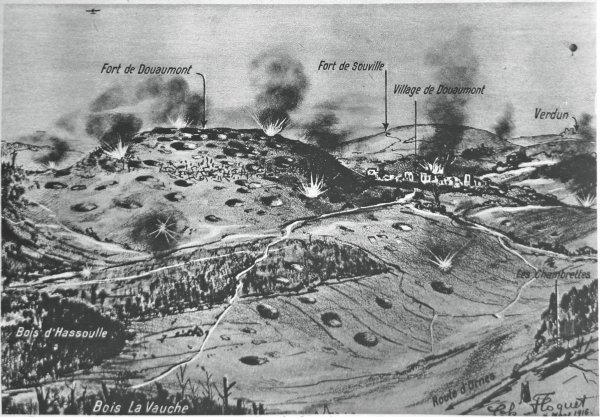 BATAILLE DE VERDUN 1916 : JOURNEE DU 12 AVRIL 1916