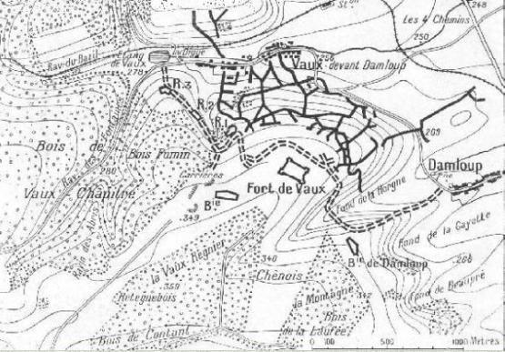 BATAILLE DE  VERDUN 1916 : JOURNEE DU 16 AVRIL 1916