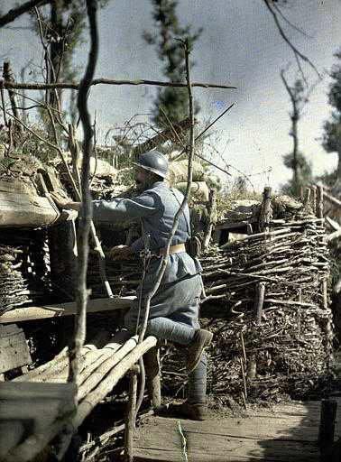BATAILLE DE VERDUN 1916 : JOURNEE DU 18 AVRIL 1916