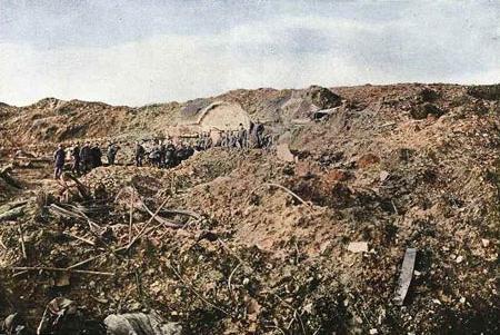 BATAILLE DE  VERDUN 1916 : JOURNÉE DU 2 MAI 1916
