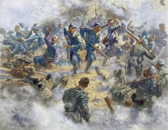 BATAILLE DE VERDUN 1916 : JOURNNE DU 15 MAI 1916