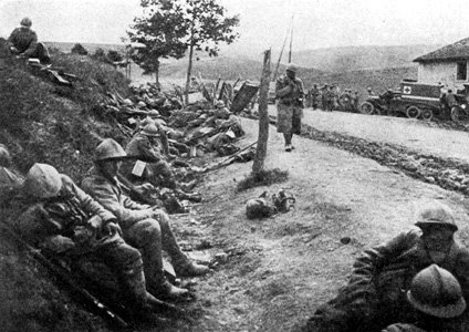 BATAILLE DE VERDUN 1916 : JOURNEE DU 1er JUIN 1916