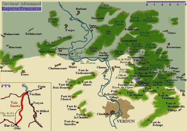 BATAILLE DE VERDUN 1916 : JOURNEE DU 30 JUILLET 1916