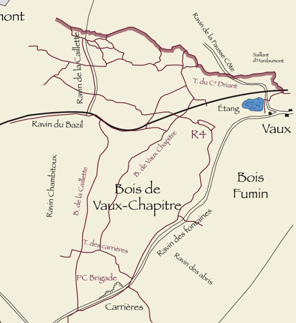 BATAILLE DE VERDUN 1916 : JOURNEE DU 1er AOUT 1916