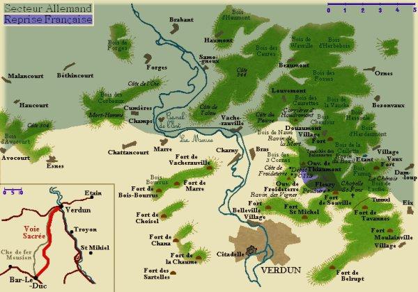BATAILLE DE VERDUN 1916 : JOURNEE DU 23 AOUT 1916