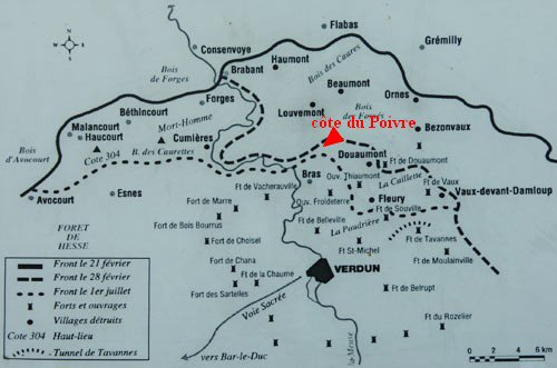 BATAILLE DE VERDUN 1916 : JOURNEE DU 1er SEPTEMBRE 1916