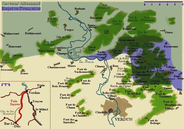 BATAILLE DE VERDUN 1916 : JOURNEES DU 17 AU 18 DECEMBRE 1916
