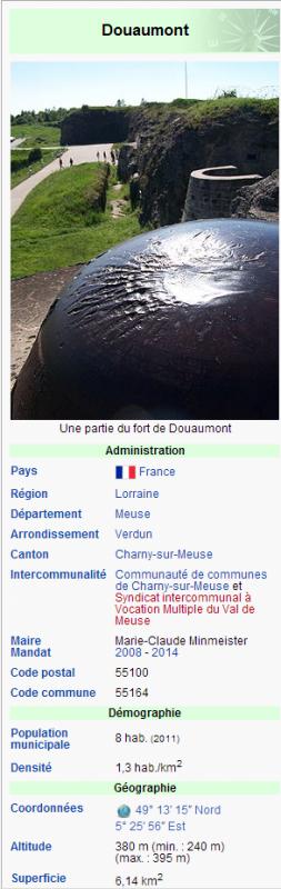 VILLAGE DETRUIT DE DOUAUMONT