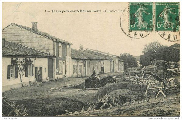 VILLAGE DETRUIT DE FLEURY-DEVANT-DOUAUMONT