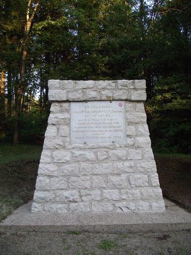 FLEURY-DEVANT-DOUAUMONT : MONUMENTS ET STELES