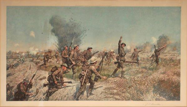 BATAILLE DE LA SOMME  : 1er JUILLET 1916  AU  18 NOVEMBRE 1916