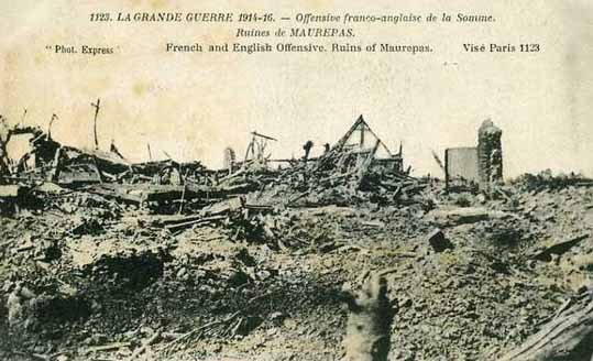 BATAILLE DE LA SOMME 1916 : 2éme PHASE