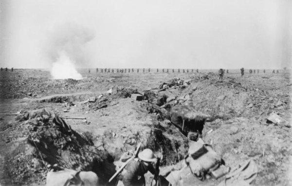 BATAILLE DE FLERS-COURCELETTE 15 SEPTEMBRE 1916