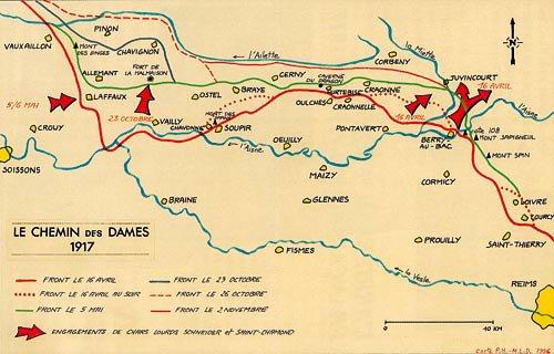 CHEMIN   DES   DAMES  1917 : PRELUDE