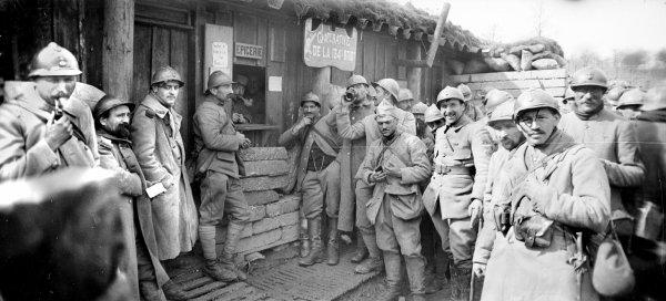 CHEMIN DES DAMES 1917 :  L'ORDRE DE BATAILLE