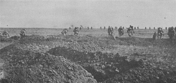 CHEMIN DES DAMES 1917 : L'OFFENSIVE
