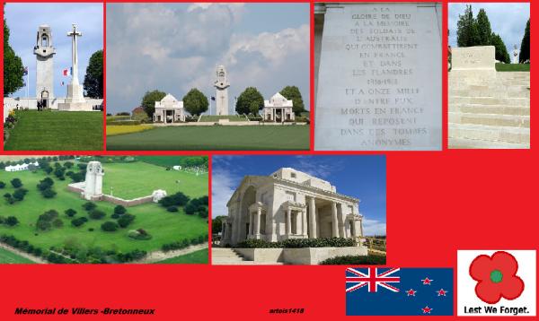 MEMORIAL AUSTRALIEN DE VILLERS- BRETONNEUX