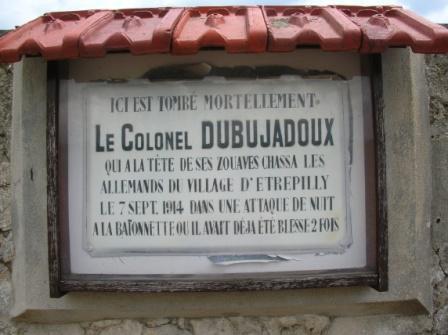 BATAILLE  DE  L'OURCQ  :  CONCLUSION