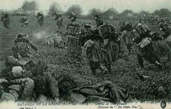 BATAILLE  DES  DEUX  MORINS :  JOURNEE  DU  5  ET  6  SEPTEMBRE  1914