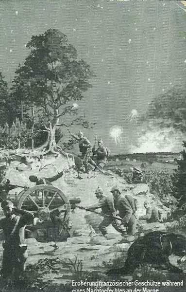 BATAILLE   DES   MARAIS   ST GOND  :  JOURNEE  DU 8  SEPTEMBRE  1914