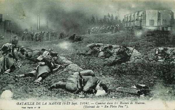 BATAILLE DE LA TROUE DE REVIGNY: JOURNEES DU 5 AU 7 SEPTEMBRE 1914