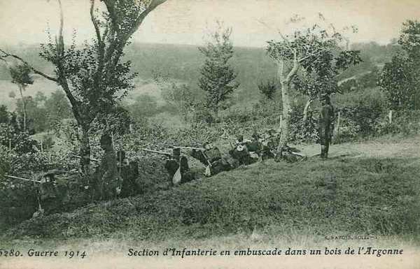 BATAILLE DE LA TROUE DE REVIGNY : JOURNEES DU 8 AU 10 SEPTEMBRE 1914