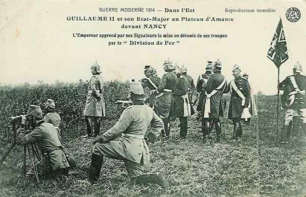 BATILLE DU GRAND COURONNE DE NANCY : DU 4 AU 13 SEPTEMBRE 1914 : CIRCONSTANCES . LE TERRAIN . DISPOSITIF FRANCAIS