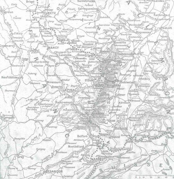 BATAILLE DE LORRAINE : DU 20 AU 22 AOUT 1914 :