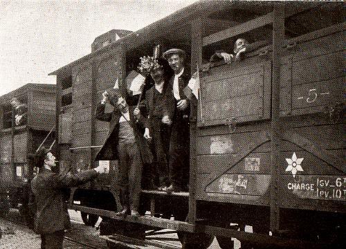 MOBILISATION  DE  1914  :  PLAN  XVII