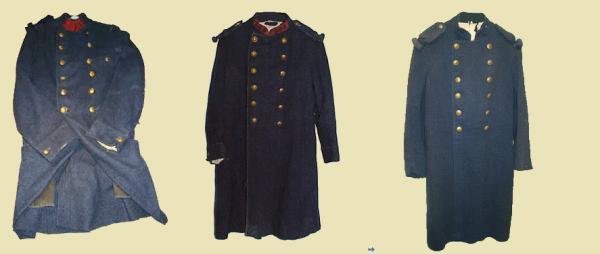 EVOLUTION DE L'UNIFORME FRANCAIS DURANT LA GUERRE 1914-1918