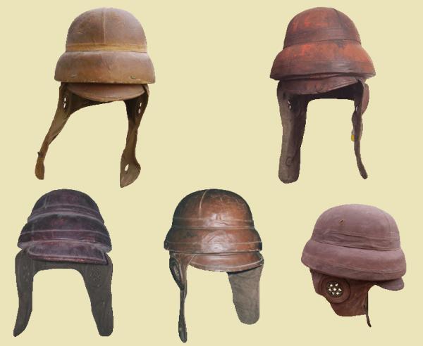 EVOLUTION DE L'UNIFORME FRANCAIS DURANT LA GUERRE 1914-1918 : LA VISIERE DE PROTECTION ::