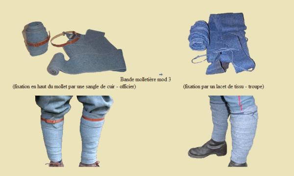 EVOLUTION DE L'UNIFORME FRANCAIS DURANT LA GUERRE 1914-1918 : LES PANTALONS-CULOTTES